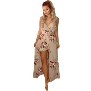 488831eb5503 Women s New Floral Rompers Under  50